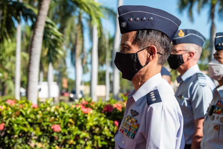 Photo of Koku-Jieitai (Japan Air Self-Defense Force) Gen. Shunji Izutsu, JASDF Chief of Staff