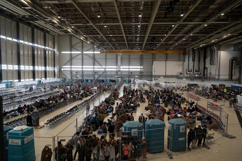 View of hangar 5.