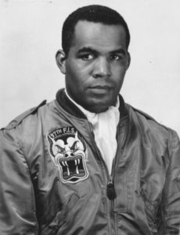 Pilot poses for portrait