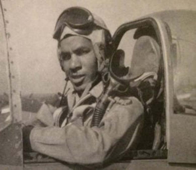 Pilot poses for photo