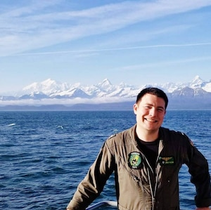 FILE PHOTO of Lt. Bradley A. Foster, 29, a pilot from Oakhurst, California. Foster was one of five Sailors killed when an MH-60S Seahawk helicopter, assigned to Helicopter Sea Combat Squadron (HSC) 8, crashed approximately 60 nautical miles off the coast of San Diego, Aug. 31.