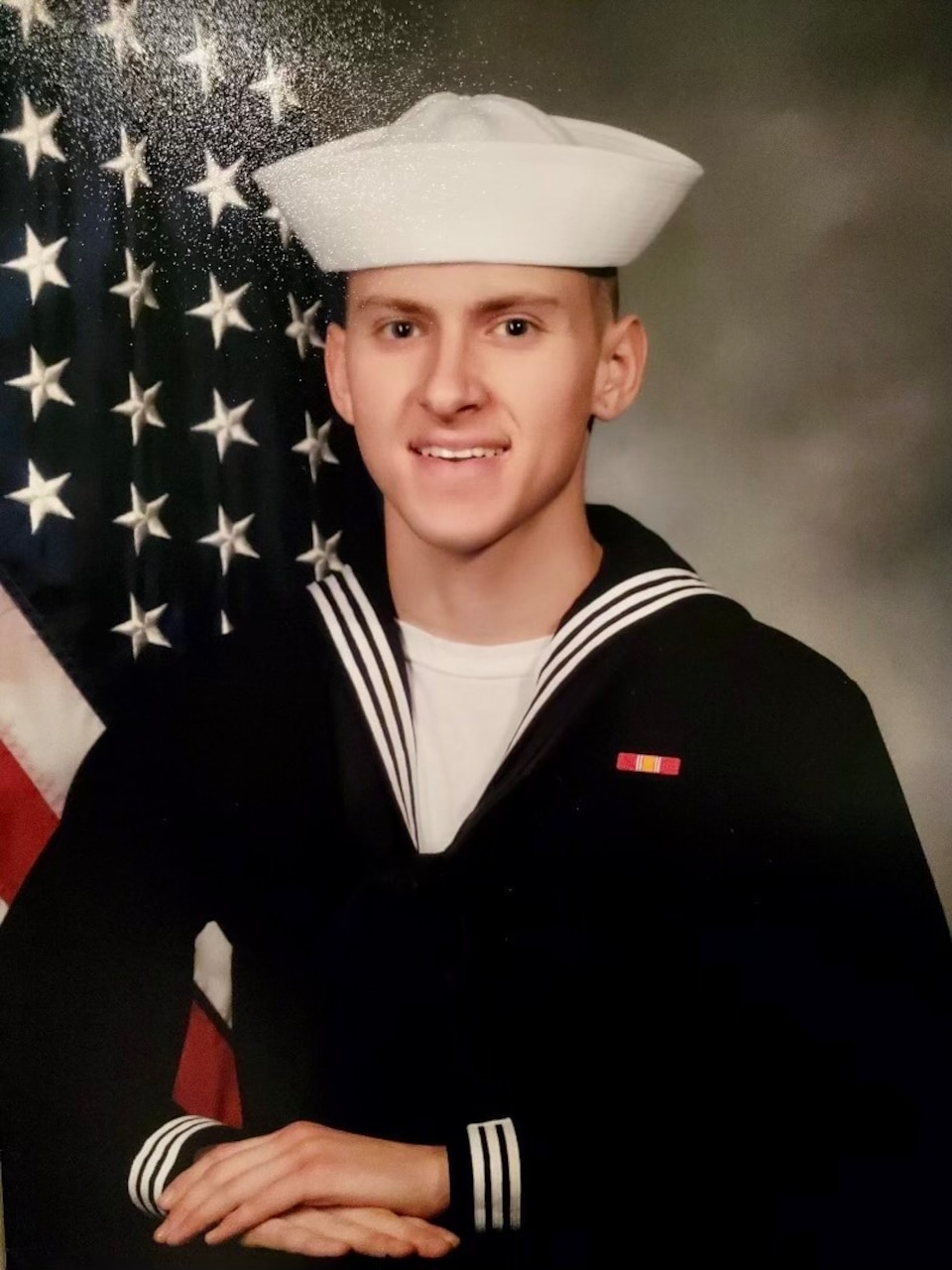 FILE PHOTO of Hospital Corpsman 3rd Class Bailey J. Tucker, 21, from St. Louis, Missouri. Tucker was one of five Sailors killed when an MH-60S Seahawk helicopter, assigned to Helicopter Sea Combat Squadron (HSC) 8, crashed approximately 60 nautical miles off the coast of San Diego, Aug. 31.