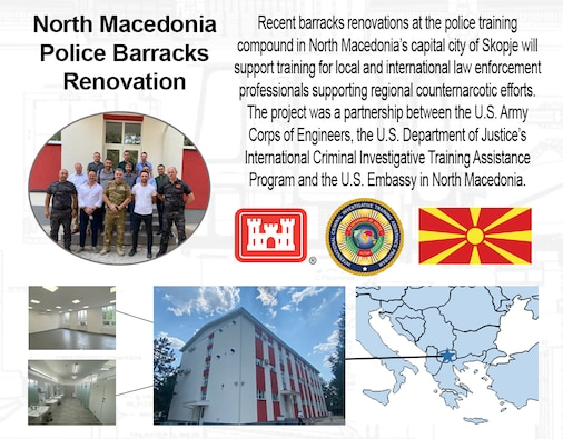 U.S. Army, DOJ partnering with North Macedonia to support regional counternarcotic efforts