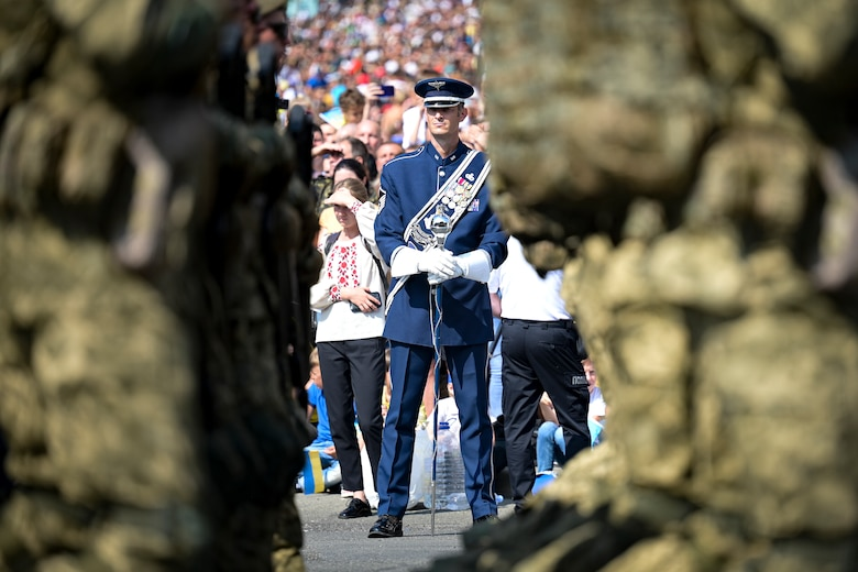 USAFE Band's participation in Ukraine's 30th Independence Day highlights U.S. commitment