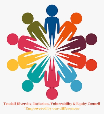 The Tyndall Diversity, Inclusion, Vulnerability and Equity Council facilitates progressive education, tools and solutions fostering an inclusive force that recognizes and incorporates all of Team Tyndall and operates based off of their collective efforts. TDIV&E is open to all who encourage and promote diversity and inclusion within the Air Force.