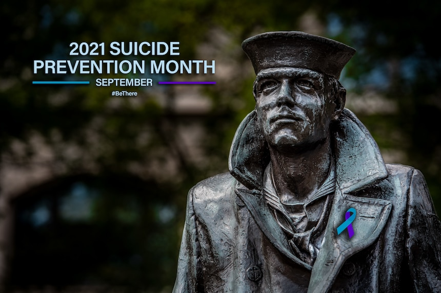 WASHINGTON (Sep. 7, 2021) A digital illustration created for suicide prevention month. (U.S. Navy graphic by Mass Communication Specialist 1st Class Sean Castellano/Released)