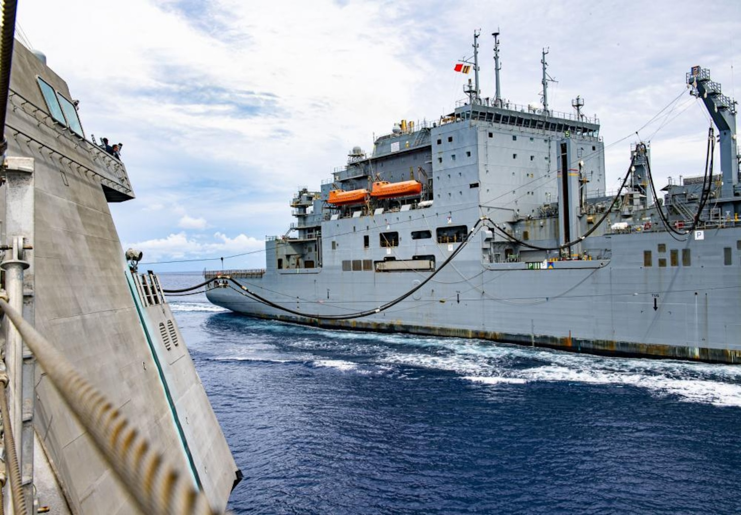 USS Tulsa (LCS 16) Sails In The South China Sea [Image 2 of 2]