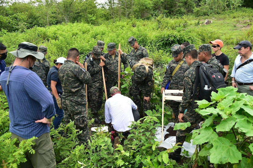 U.S., Honduran military, and cultural heritage experts partner for unique exchange