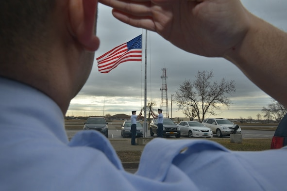 The Minot AFB Honor Guard covers approximately 69,000 square miles across North Dakota.