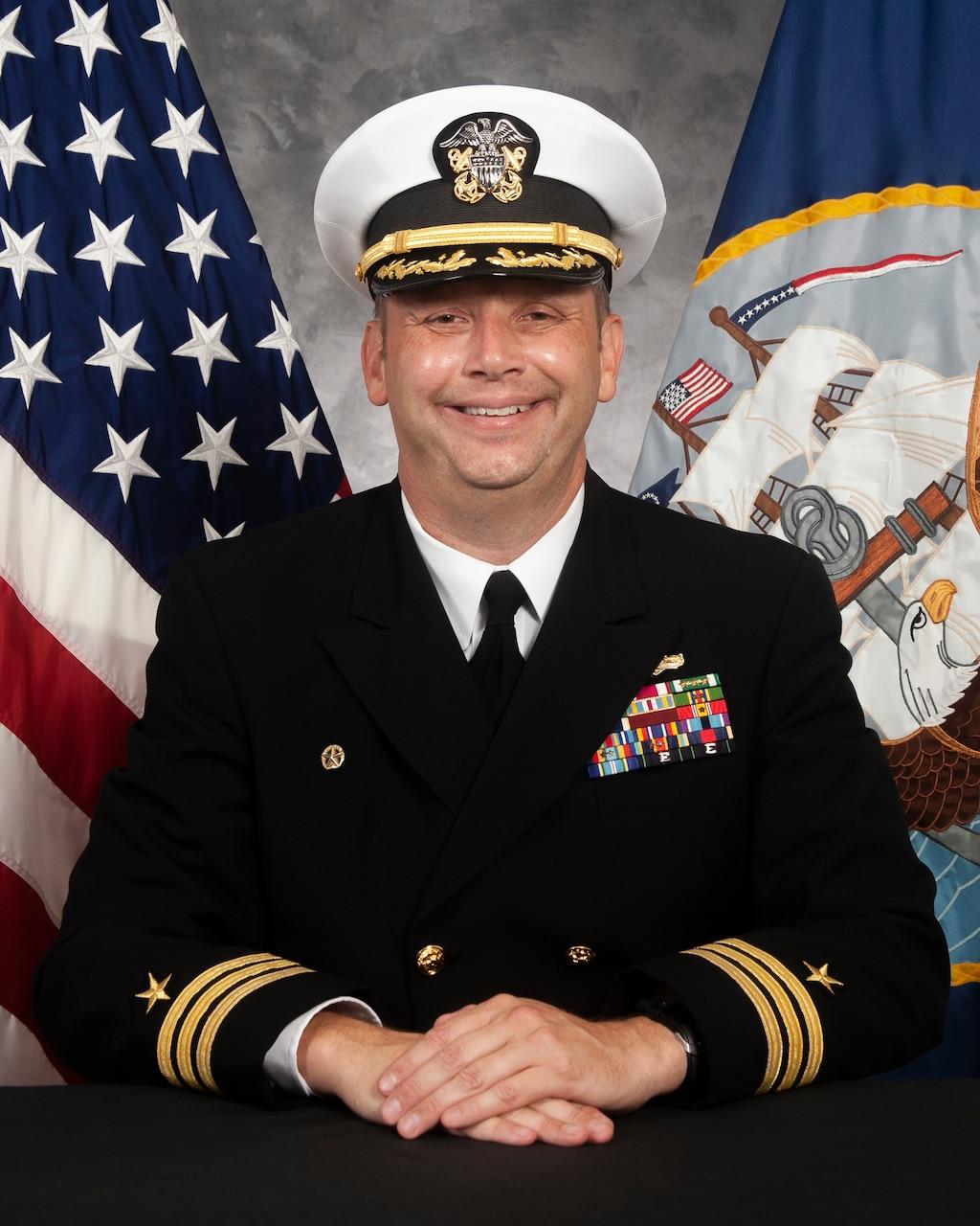 Commander Travis A. Montplaisir