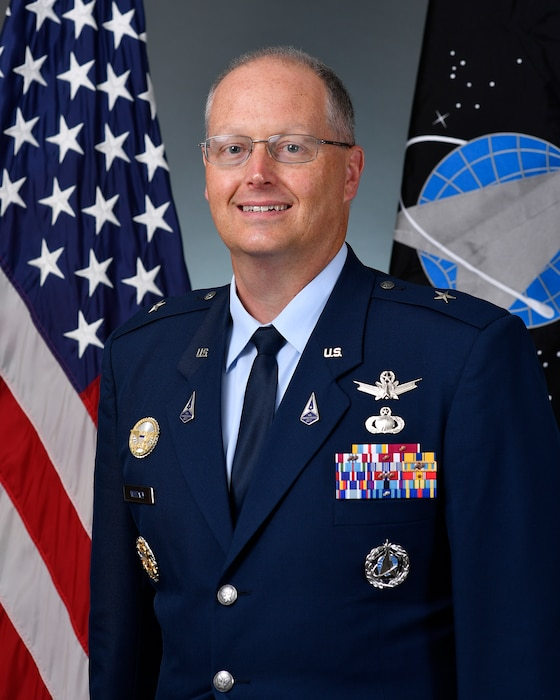 This is the official portrait of Brig. Gen. Steven P. Whitney.