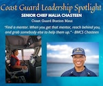 Coast Guard Leader of the Week: Senior Chief Petty Officer Malia Chasteen