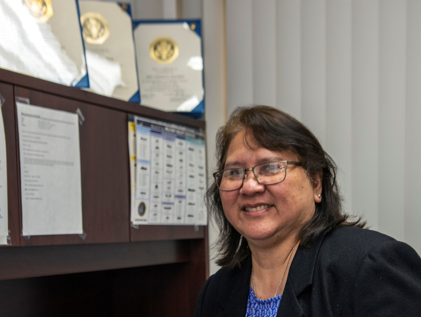 Norma Pillman has dedicated her entire 40-year career to serving the U.S. Government, the last 24 with Military Sealift Command.