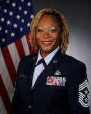 Picture of Chief Master Sgt. Lorna Major.