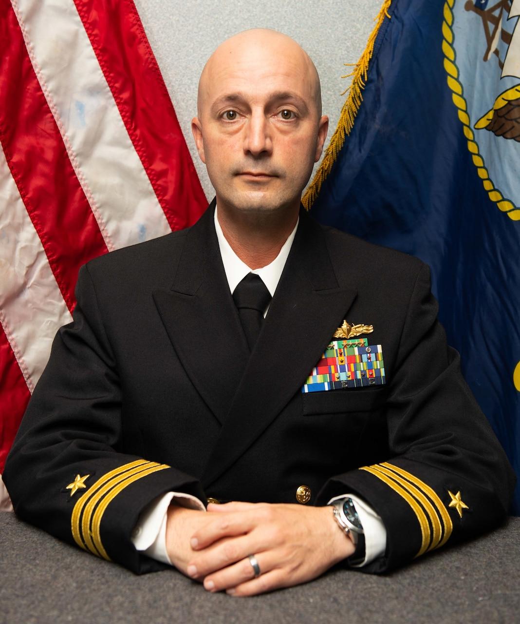 Commander Kevin K. McClellan