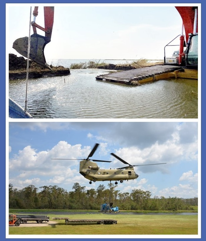 USACE has received a $25 million FEMA mission assignment to conduct the recovery unwatering mission in South Louisiana following Hurricane Ida.