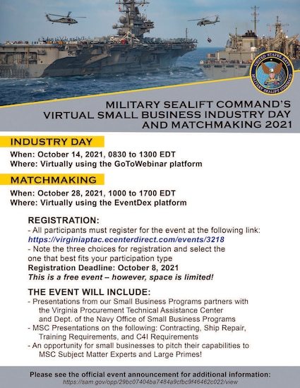 Virtual Small Business Industry Day