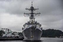 USS Dewey arrives in Japan, joins 7th Fleet forces