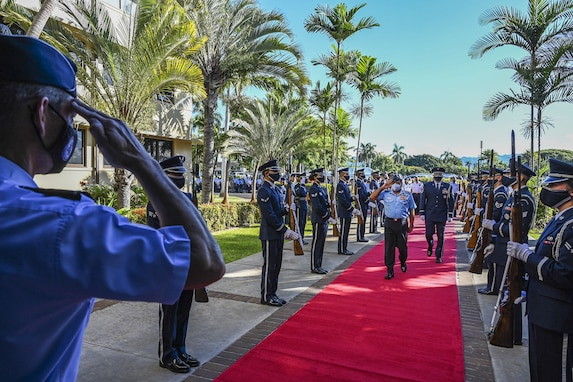 Partner nations share strengths, capabilities during PACS-21