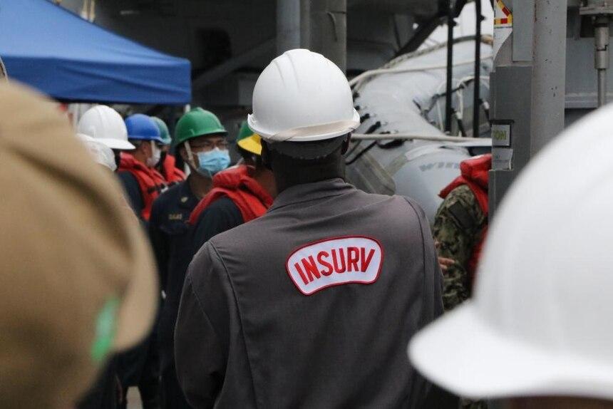 USS Fitzgerald Completes INSURV