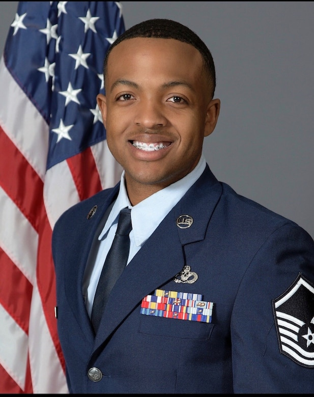 U.S. Air Force Master Sgt. Brian Ogbonnaya, 11th Civil Engineer Squadron superintendent of operations engineering, was nominated for the 2021 Tuskegee Airmen, Inc. Chief Master Sgt. Fred Archer Military Award for senior NCOs at the 11th Wing, Joint Base Anacostia-Bolling, Washington, D.C. Nominees exhibited outstanding performance in both professional and community service. Three Airmen nominated in three categories from the 11th Wing at JBAB will now compete at the Air Force District of Washington direct-reporting unit and major command level. (Courtesy photo)