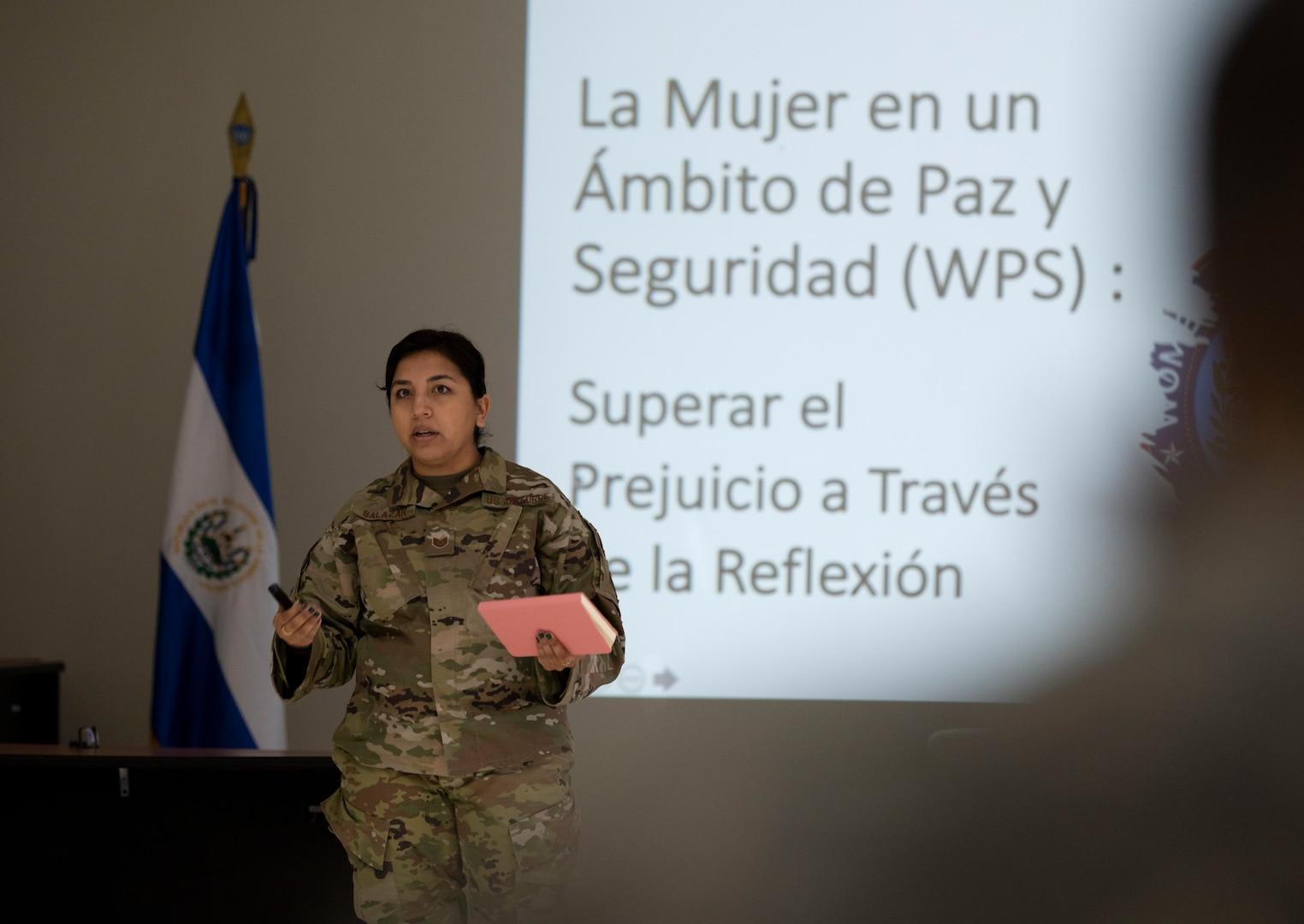 571 MSAS launches inaugural WPS seminar in El Salvador