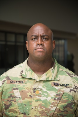 Maj. Jarrod Gillespie, deputy chief of contracting for the U.S. Army Engineer Research and Development Center, signed an ROTC contract the day of Sept. 11, 2001, in response to seeing the attacks on America. Today, 20 years later, Gillespie is proud of the choice he made to defend his nation.