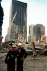 2 Coast Guard Chaplains at Ground Zero