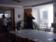 """WFC2, 26th Floor, USCG & EPA.""; photo by MST1 Robert J. Schrader. Provided courtesy of MST1 Robert J. Schrader."