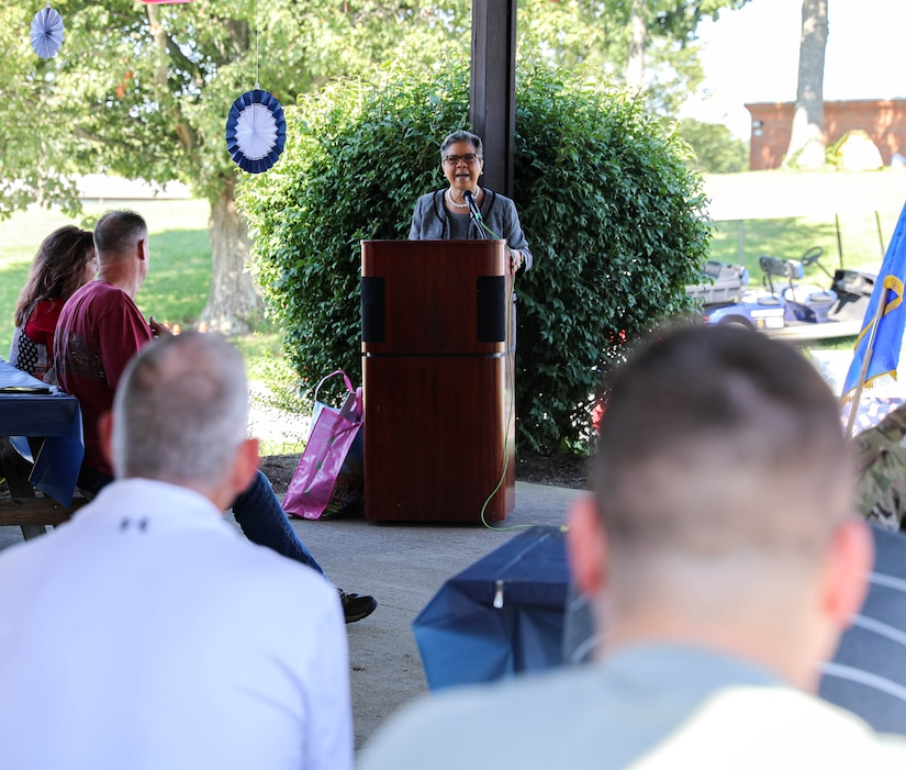 """The days event's theme, """"Diversity of Hearts and Minds, featured a guest speaker, live music, the 5K run, service booths from across the organization, and a USO-sponsored lunch."""