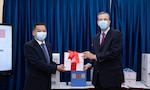 United States Provides 50 Ventilator Test Lungs for the Treatment of Severely Ill Patient