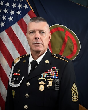 CSM Steven Slee, Command Sergeant Major, 85th U.S. Army Reserve Support Command