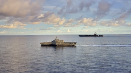 USS Tulsa Operates with Carl Vinson Carrier Strike Group in South China Sea