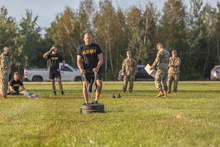 Department of the Army Best Warrior training