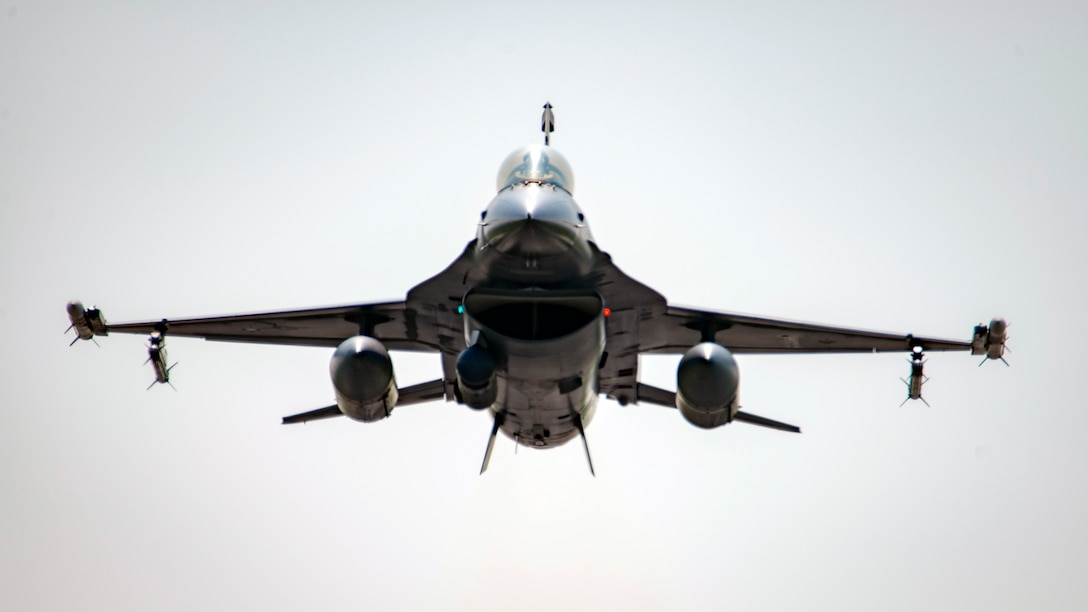 177FW F-16 Takes Off From Atlantic City Air National Guard Base