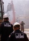 CG Atlantic Strike Team at Ground Zero