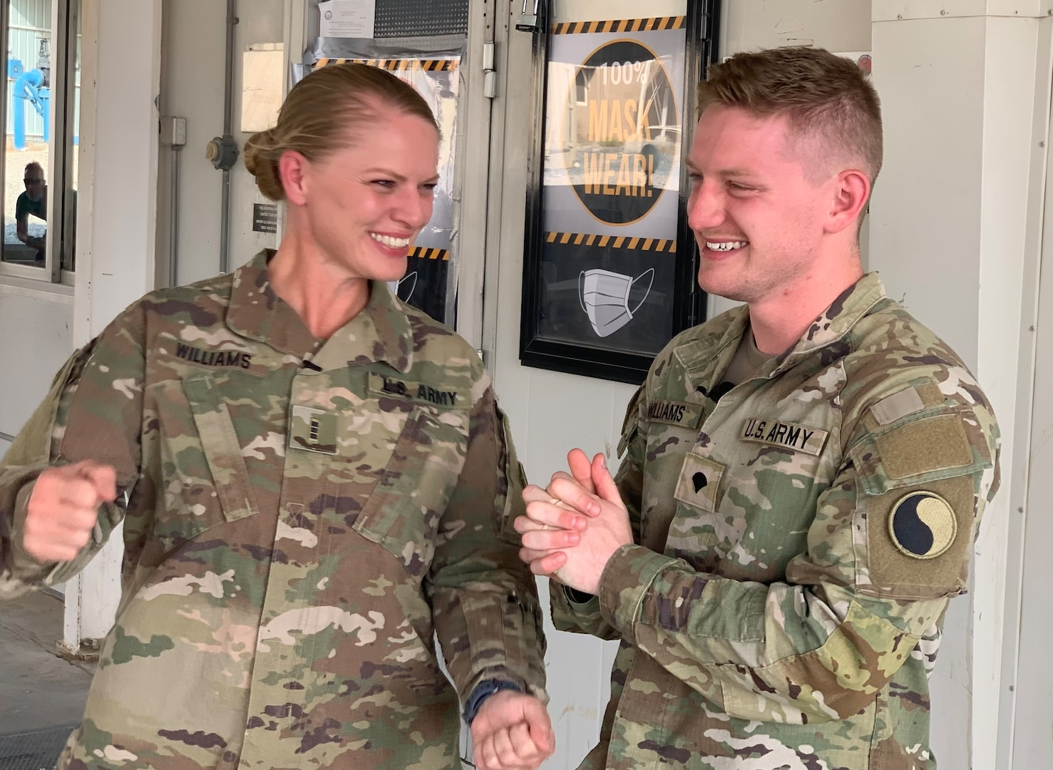 29th ID mother, son deployed together