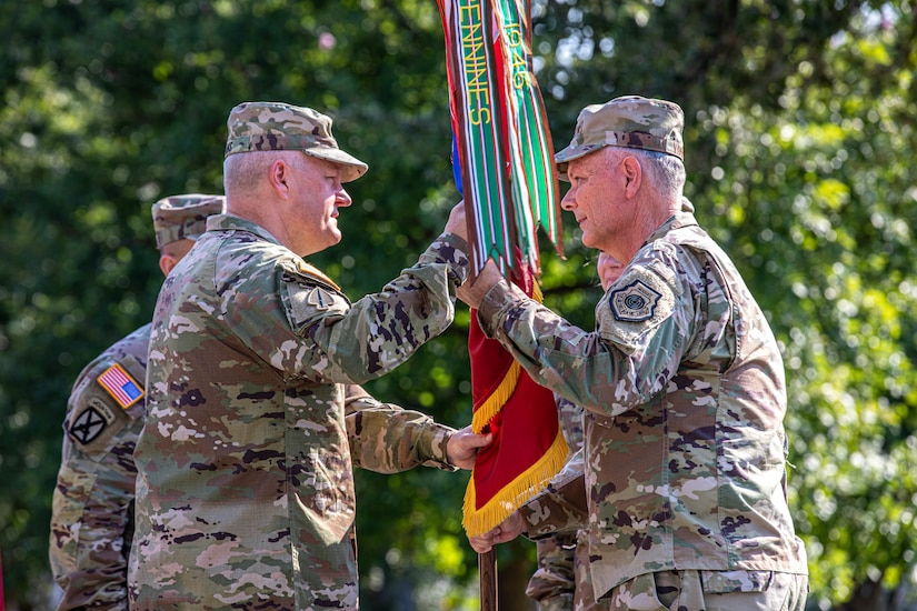 VanHerck presided over the ceremony in which Lt. Gen. Laura J. Richardson, the outgoing commander of U.S. Army North, relinquished command to Evans, who previously served as the commanding general of the U.S. Cadet Command at Fort Knox, Kentucky.