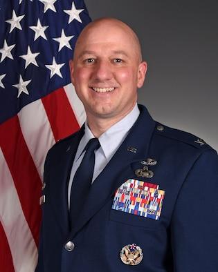 Col. Matthew Reilman's official photo