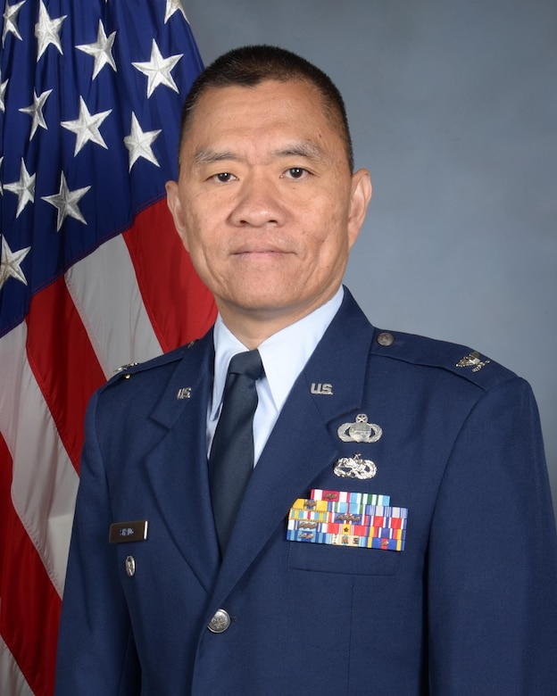 Official photo of Col. Ephod Shang.