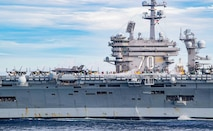 Japan Maritime Self-Defense Force and Carl Vinson Carrier Strike Group Conduct Bilateral Exercises