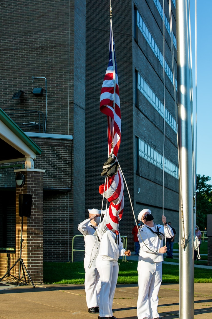 Norfolk Naval Shipyard (NNSY) held its Patriot Day ceremony on Friday, Sept. 10, to commemorate the lives of those lost and the courage and bravery of all the first responders who helped save lives during the historic September 11, 2001 attacks. This year marks the 20th anniversary of the 9/11 attacks, which were the worst attacks on American soil since the Japanese attacked Pearl Harbor, Hawaii, in 1941.
