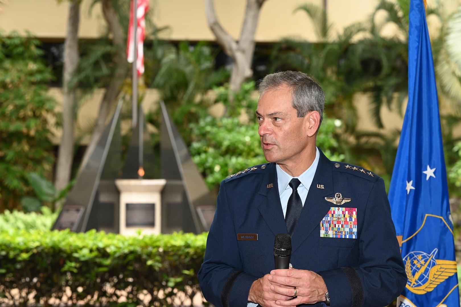 Photo of U.S. Air Force Gen. Ken Wilsbach, Pacific Air Forces commander