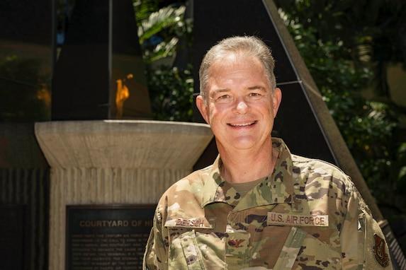 Photo of U.S. Air Force Col. David Dersch