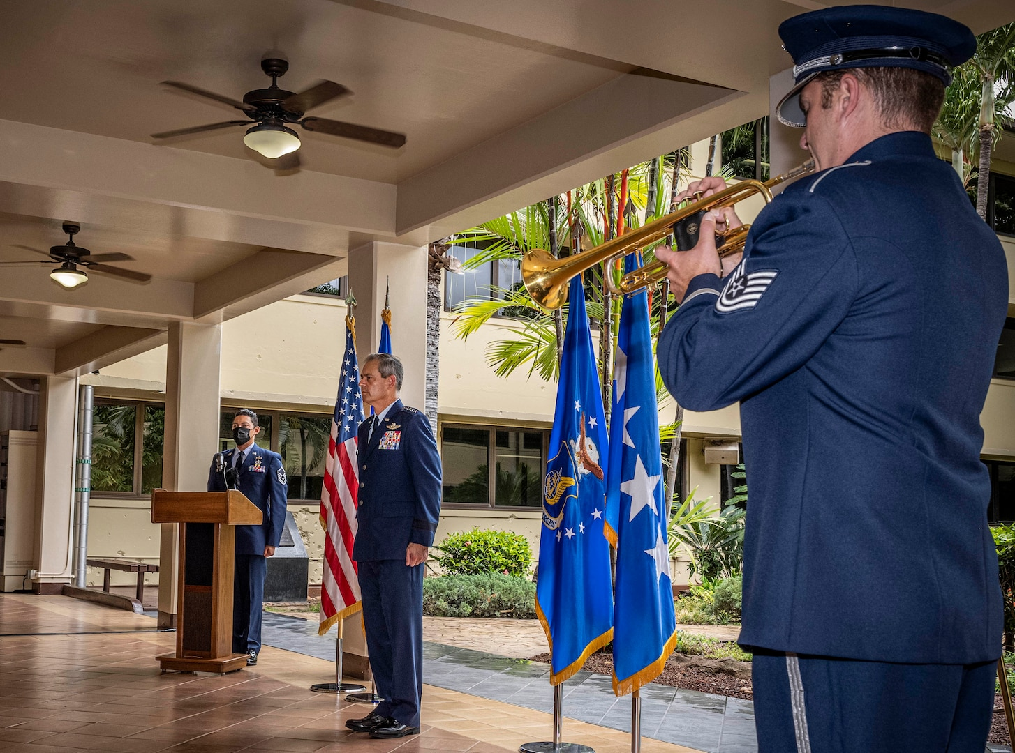 Photo of a 9/11 Commemoration Ceremony