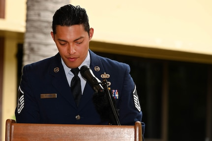 Photo of U.S. Air Force Master Sgt. Eric Flores