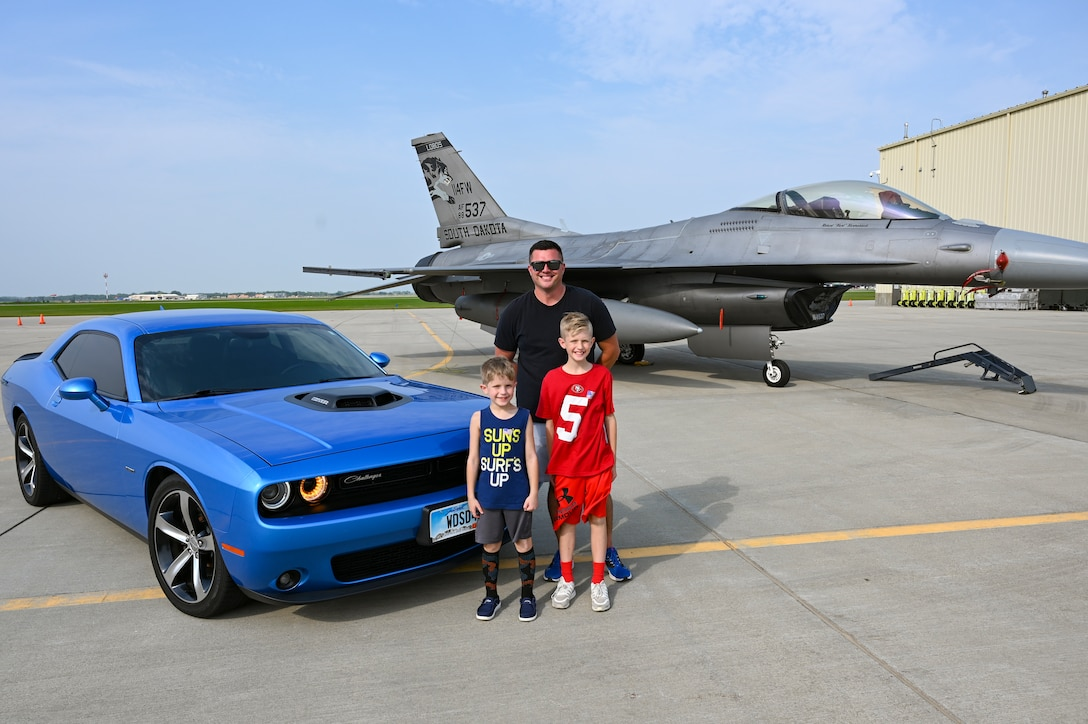 The 114th Fighter Wing held their annual Family Day at Joe Foss Field, S.D., Sept. 11, 2021.