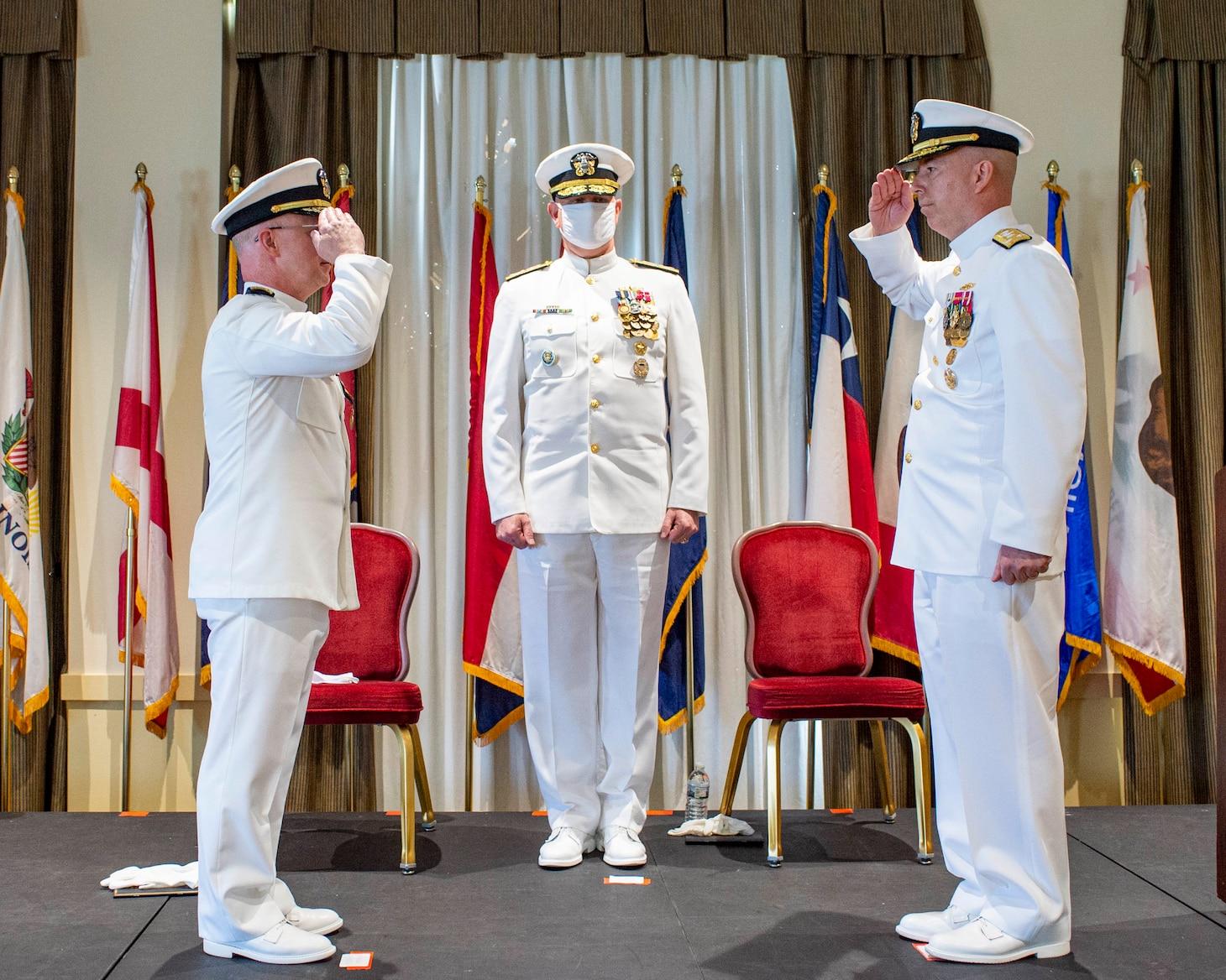 Change of command ceremony
