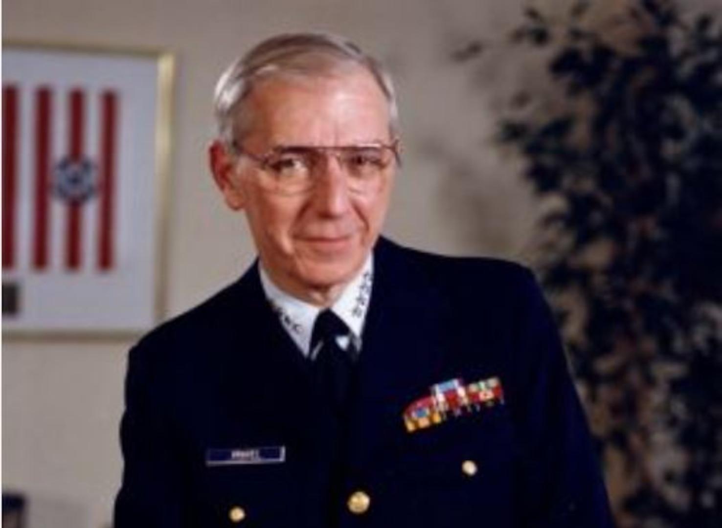 Portrait of Adm. James Gracey, USCG Retired