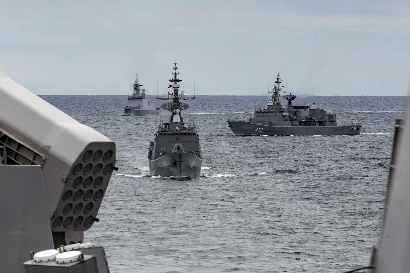 U.S., Thailand expand maritime partnership with CARAT exercise